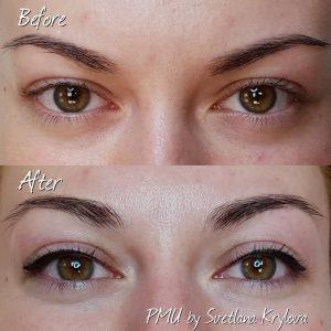 permanent eyeliner after