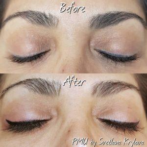 permanent eyeliner effect